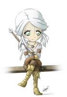 Chibi Ciri - The Witcher 3
