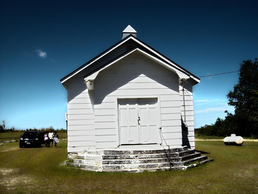 Church on the countryside by KINGOFTHEGAMEZ