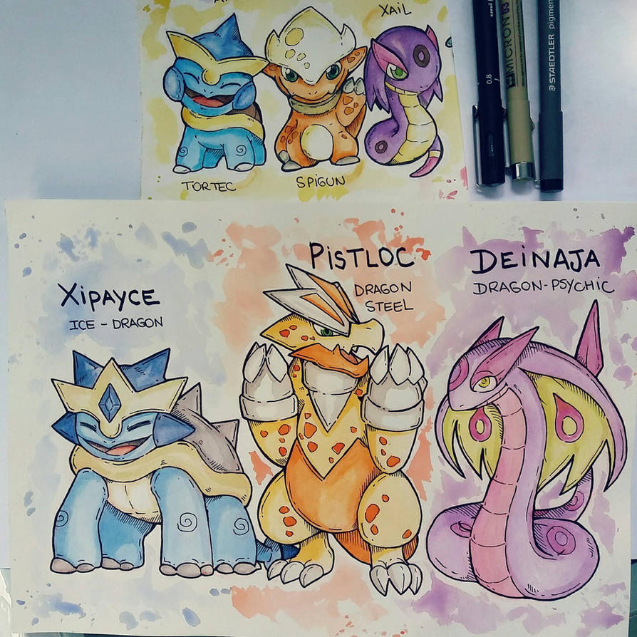 Dragons de Fletva  by gasra