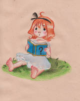 Reading the ? book by kadjura