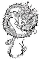 No arms dragon by kadjura