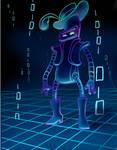 Neon Funky-Robot