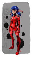 Miraculous Ladybug Fan art by kadjura