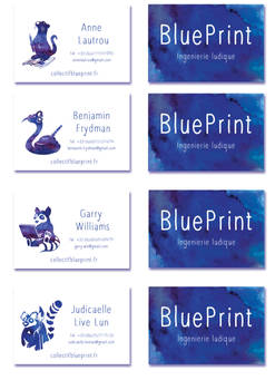 Collectif BluePrint Business  card