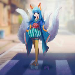 Magical March Kitsune