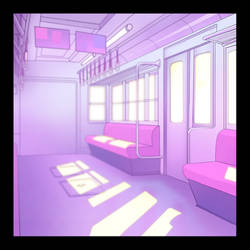 Subway Pastel purple