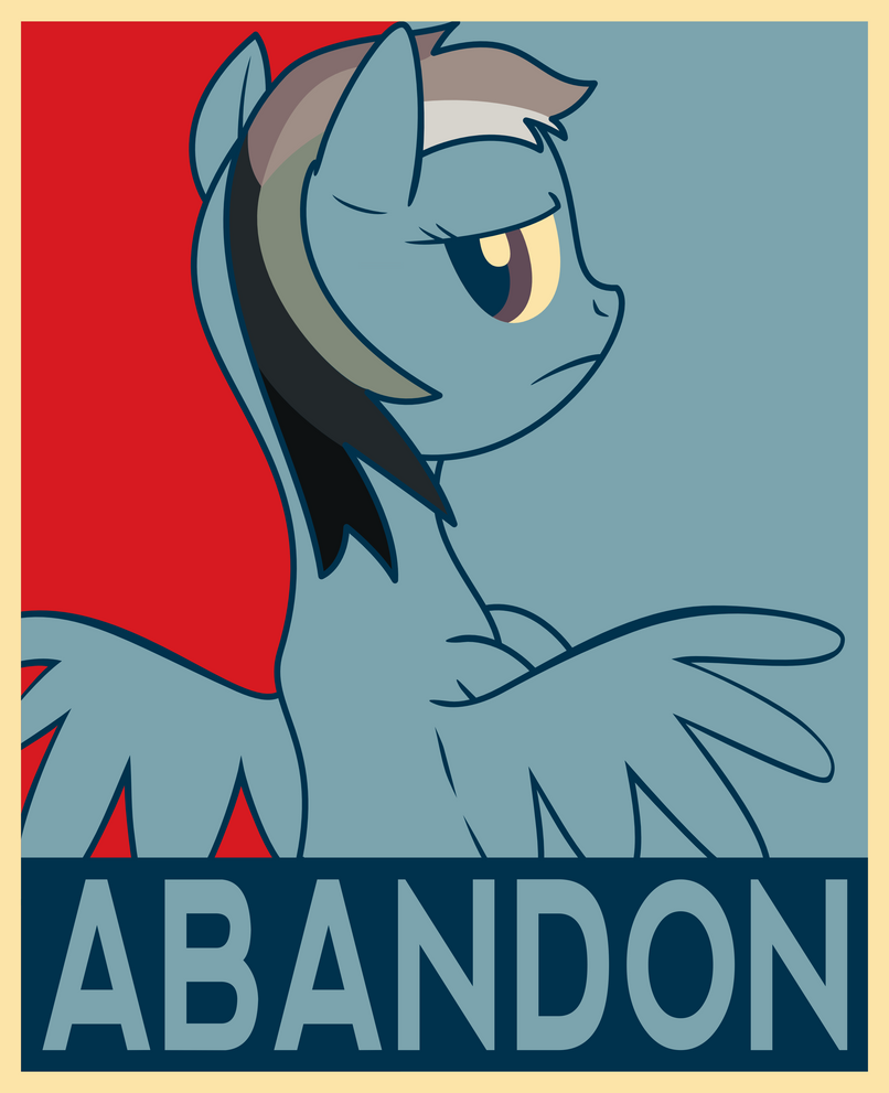 Alumni Week 13 - Poster Abandon v1.1 by JunaECBS