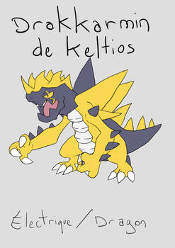 Pokemon Selte - Pokedex - 130 Sketch