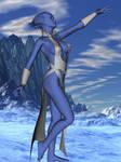 Asari ice sorceress