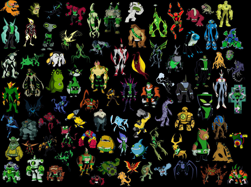 All ben 10 aliens by albinojoker4 on deviantart all ben 10 aliens by albinojoker4 voltagebd Image collections