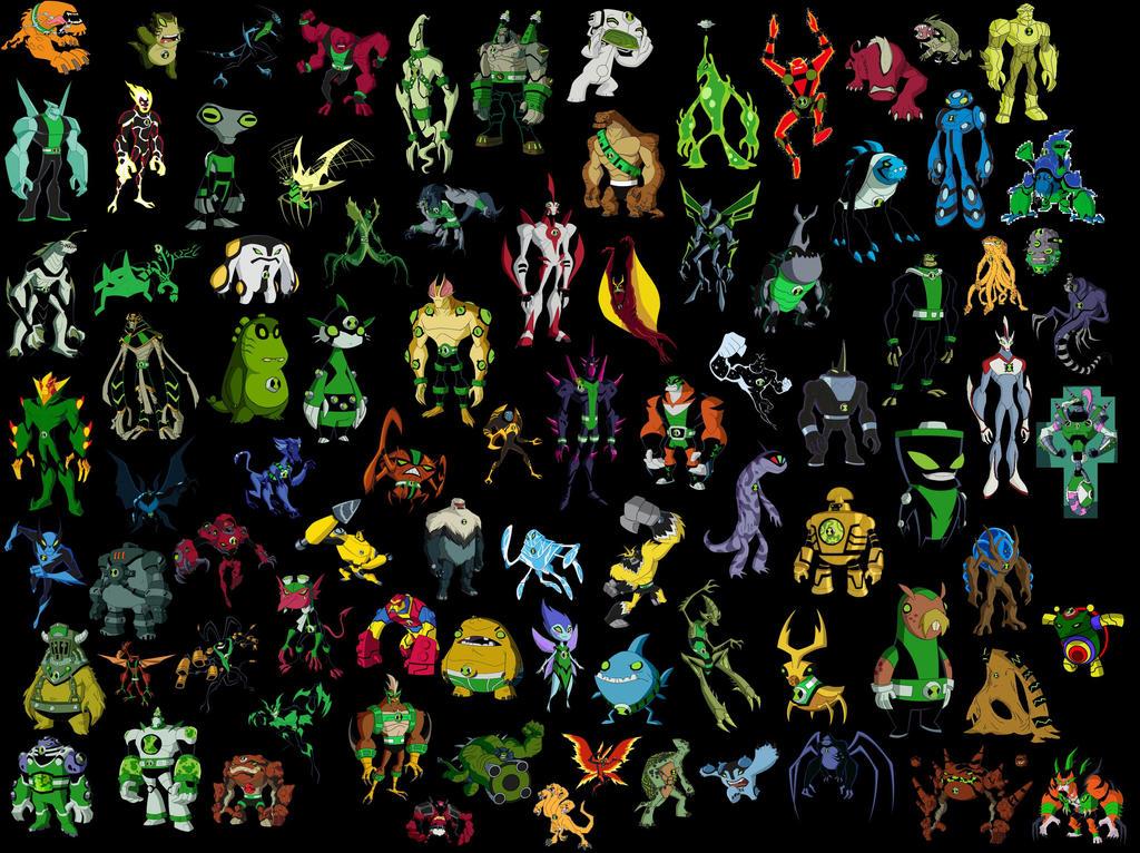 all ben 10 aliens