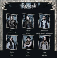 the band by Korpiklaani-fanclub