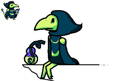 Lil Guy! Plague Knight! by Pennythegreatpokemon
