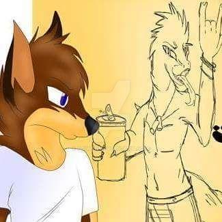 Shars the Furry boy by Cjiwer