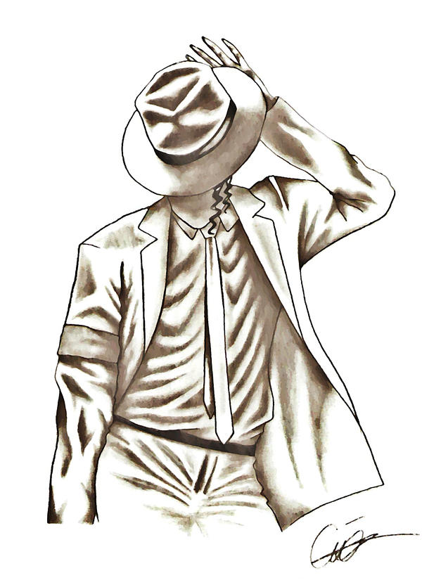 michael jackson sketch smooth - photo #22
