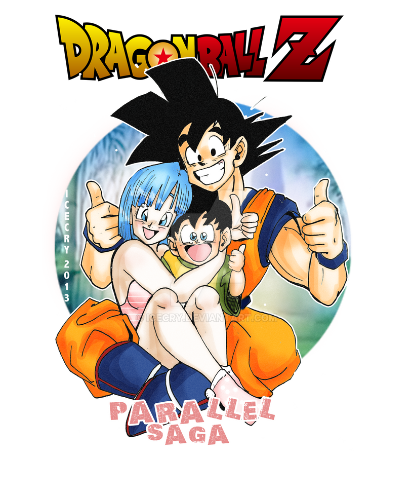 Dbz ps thumbs up by icecry on deviantart - Goku e bulma a letto ...