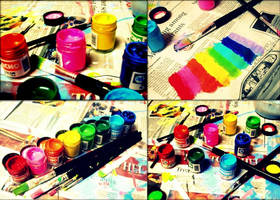 Play with paint.