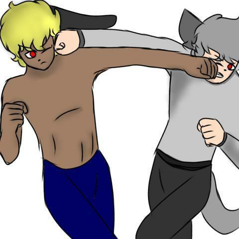 Guy VS o Hater! Estilo manga