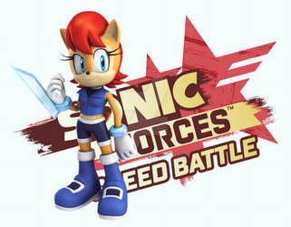 Sally Acorn at Sonic Forces Speed Battle by R3452