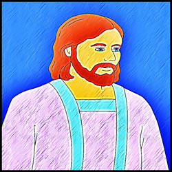Pintando Jesus