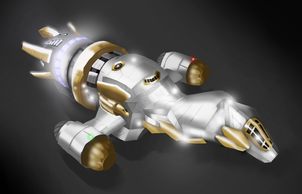 Shiny Firefly Class Ship (best in the 'verse) by AndHeDrew