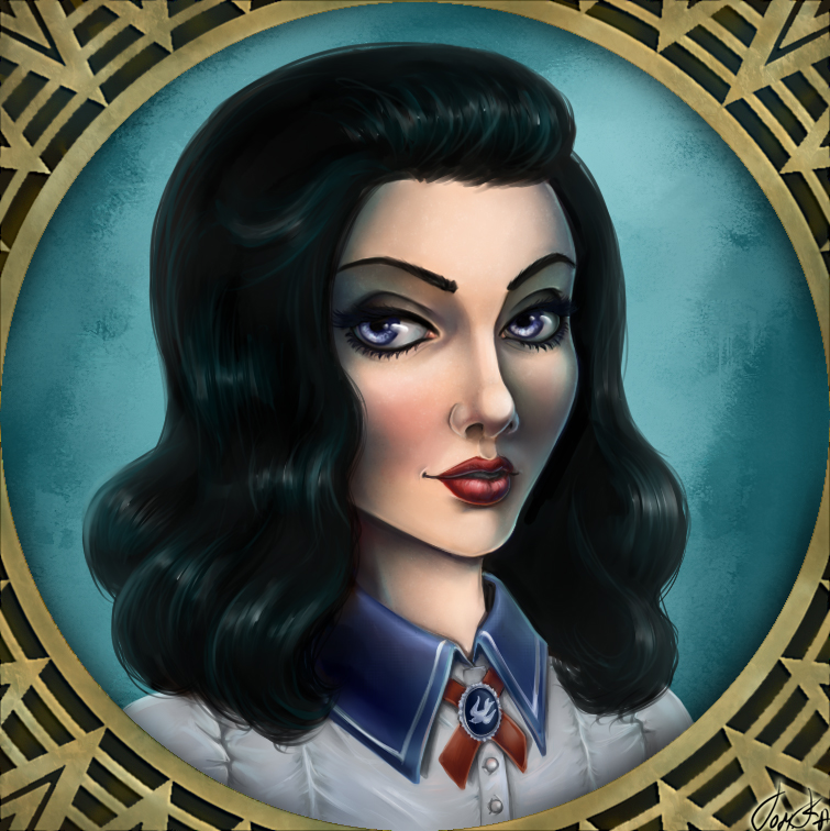 Bioshock Infinite: Burial at Sea. Elizabeth by TomkaViolea
