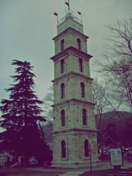 Bursa Saat Kulesi by melikelmas