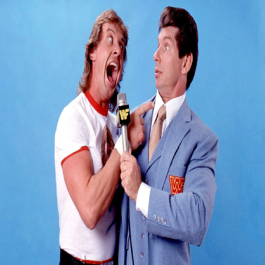 'Rowdy' Roddy Piper And Vince McMahon by MetallicaFreak86