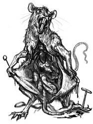 Zombie Mouse by aogachou