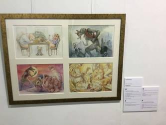 Exbition in UK London  menier gallery by aogachou