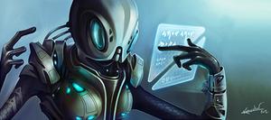 Endless Space: Sophon Hero 01 by Kryssalian