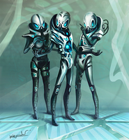 Endless Space: Sophon Leaders by Kryssalian
