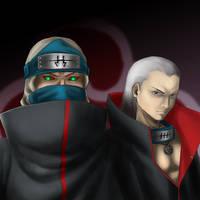 Hidan and Kakuzu by the-speed-demon