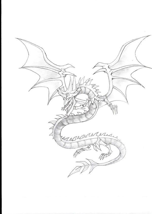 Slifer By The Speed Demon On Deviantart