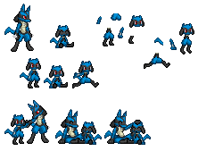 Riolu sprites small UPDATE by ralord