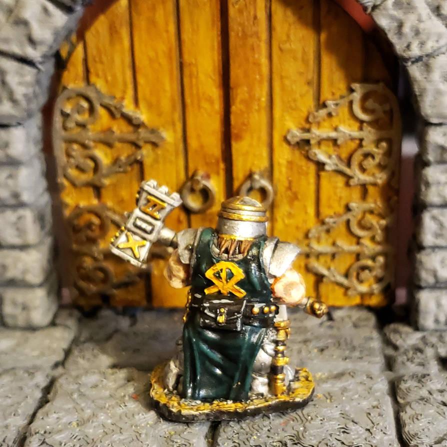 Tomb Guardian Dwarf Paladin by Gunderic