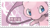Mew stamp by TakerTookMyToys