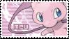 Mew stamp by TakerTookMyToys