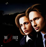 The X Files - paint
