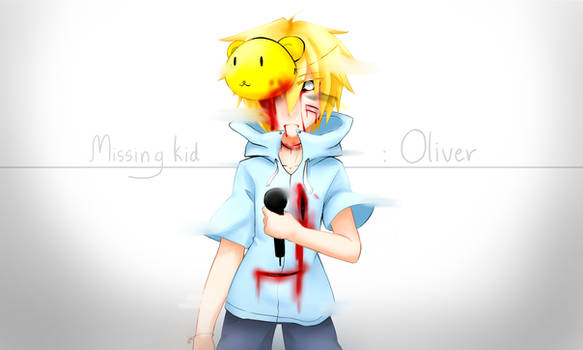 Fnaf : Missing kid - Oliver [Goldenfreddy]