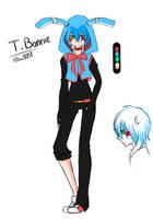 FNaf's 2 : Toy Bonnie by AllenCRIST