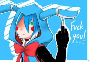 FNaf's 2 : Toy Bonnie - Fuck you! by AllenCRIST