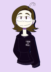 I don't usually wear sweatshirts but- by 1blockforward