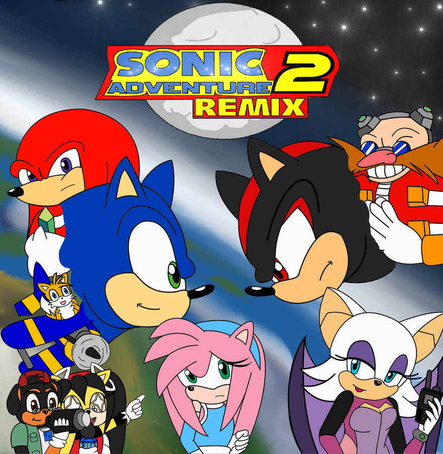 Sonic Adventure 2 Remix - Official Poster by UrsineTimes on DeviantArt