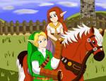Zelda OOT: Link and Malon