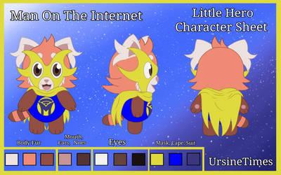 Little Hero (Character Sheet) by UrsineTimes