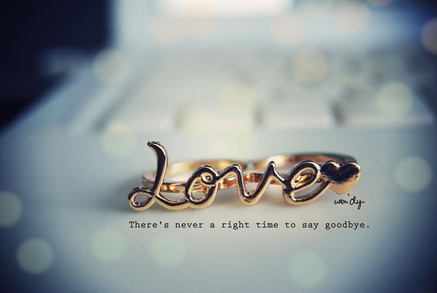 Say goodbye. by xsparkles