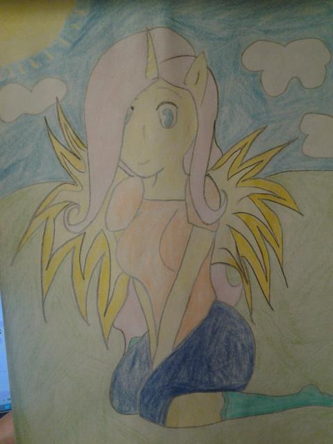 Fluttershy Alicorn by Sosodei101