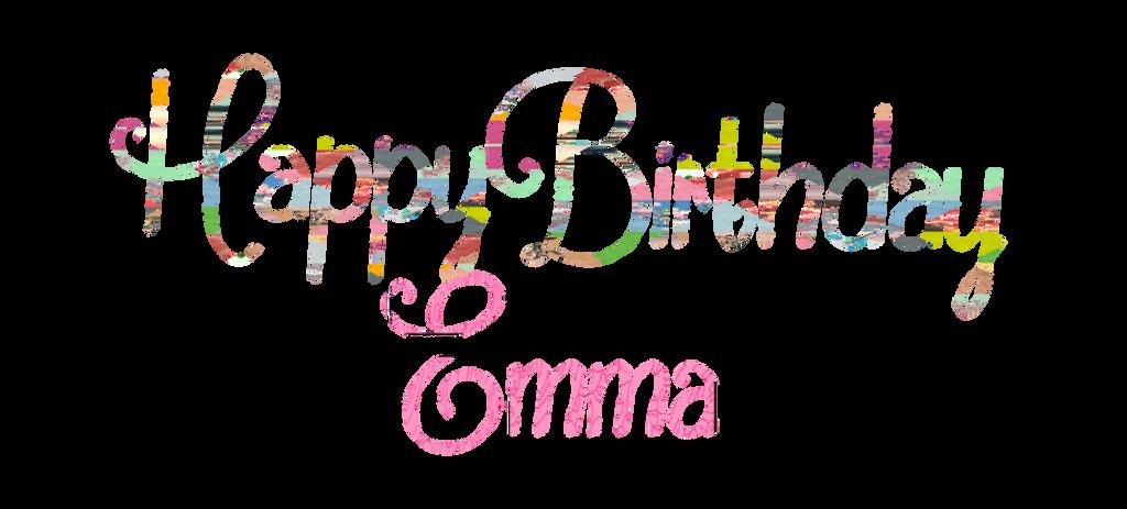 Как, эмма с днем рождения картинка