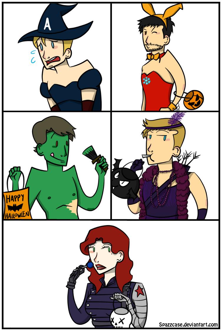 Halloween - Avengers by ryzum